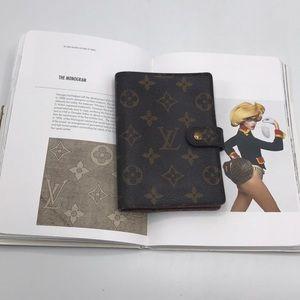 Authentic Louis Vuitton Monogram Agenda Planner